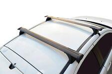 Aero Roof Rack Cross Bar for Mazda CX-7 06-16 Black 75kg 135cm Flexible