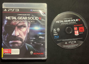 PlayStation 3 - Metal Gear Solid V 5 Ground Zeroes Sony PS3 Game Tested FREEPOST