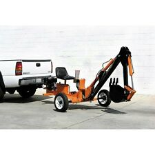 Trencher backhoe Tow-able Ride On