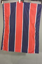 Vtg Tommy Hilfiger Patriotic Red White Blue Flag Logo Euro Pillow Sham Case