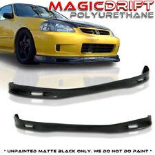 99-00 Honda Civic EK 3Dr Hatchback / 2Dr Coupe SPOON Style Front Bumper PU Lip