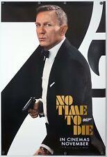 No Time To Die - original DS movie poster 27x40 INTL Advance B - James Bond 007