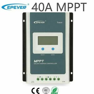 EPEVER MPPT 40A Solar Charge Controller 12V 24V Auto