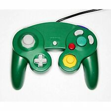 Nintendo GameCube & Wii Replacement Controller Green By Mars Devices 7Z