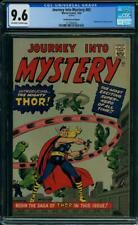 Journey Into Mystery #83 CGC 9.6 1966 1st Thor!! GRR Avengers! K4 125 cm