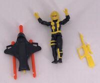 Vintage 1991 Gi Joe Near Complete Figure Hasbro Wetsuit Toy Rare Weapons Cobra