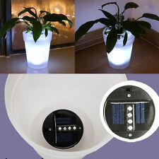 Solar Power Flowerpot Garden Landscape Lamp Outdoor Yard LED Landscape Light 1pc
