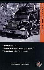 International 9200i 9400i Long Haul Aero Prospekt 2001 truck brochure LKWs Auto