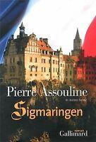 Sigmaringen von Assouline,Pierre | Buch | Zustand gut
