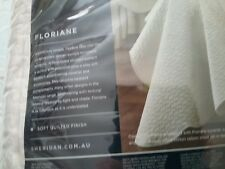 Sheridan Quilted Coverlet and matching valance and pillow shams.