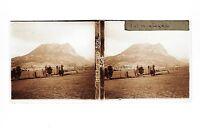 Francia Una Montagne A Identify Il Placca Da Lente Stereo 6x13cm Vintage Ca 1910