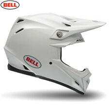 Bell 2020 Moto-9 Flex Adult Motocross Helmet Gloss White Size Large