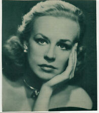 14x12cm Offset Archiv Foto Hildegard Knef photo