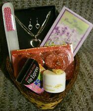 Camille Beckman Women Gift Set Bath Body Spa Basket Jewelry Lot Birthday Love