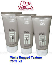 Wella Rugged Texture Matte Texturising Paste 75ml x 3 FREE tracking