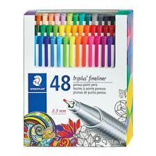 Staedtler Triplus Fineliner 0.3mm 48 Colors Porous Point Pens