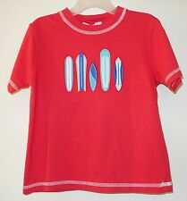 New Janie and Jack Surfboard Days Applique Shirt  Boy's Size 3
