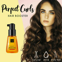 Super Curl Defining Booster Hair Fixing Care Essence 70ml Treatment Oil U2M0