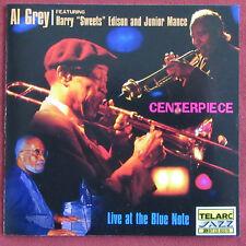 AL GREY   CD STANDARDS  CENTERPIECE LIVE AT THE BLUE NOTE  JUNIOR MANCE