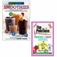 Carbs and Cals Smoothie Diet Recipes Collection Journal 2 Books Set Brand NEW
