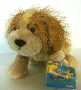 "NEW Ganz Webkinz Cocker Spaniel Dog 9"" Plush Stuffed Animal Sealed Code HM011"