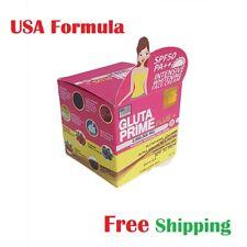 Gluta Prime plus+ Face Ceam Glutathione Collagen Skin Whitening SPF50 PA++  35ml