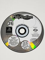 PS1 PlayStation 1 Official U.S. Magazine Issue 25 Demo Disc - Tested