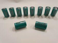 10x UltraFire CREE XML cr2 ICR rcr TR 15270 batería 3,0 voltios 600 mAh de iones de litio nuevo