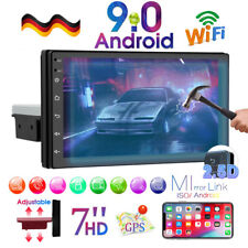Single 1 Din 7'' Android 9.0 Autoradio Mit GPS Navi WIFI Bluetooth USB FM Player