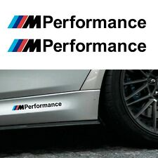 BMW M Performance Stickers Black 200mm - Vinyl self adhesive graphic car decals
