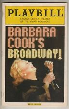 """Barbara Cook's Broadway!""  Playbill  2004  Barbara Cook"