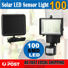 100 SMD LED Solar Sensor Light Lamp Outdoor Security Floodlights Garden Motion