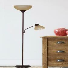 Floor Lamp 72'' Tall With Additional Adjustable Reading Light Combo Pack Metal
