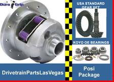 GM Chevy 8.2 10 Bolt Posi Package Yukon DuraGrip USA Std Gears 3.73 Ratio Kit