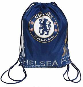 Chelsea Gym Bag Football Gift Boys Girls Xmas Birthday School - Matrix