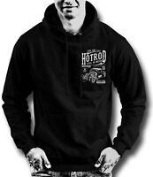 Hot Rod Rockabilly Psychobilly Tattoo hoodie loud and fast 13 lucky