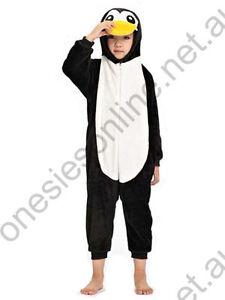 Kids Penguin Onsie Kigurumi playsuit pajama