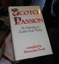 Scotch Passion - Anthology of Erotic Scottish Poetry - Robert Burns etc