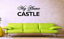 Wall Sticker Vinyl Decal Quote Lettering Design for Living Room (ig1154)