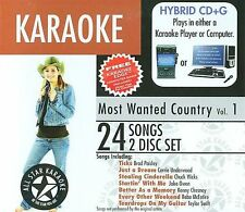 ASK-98 Karaoke: Most Wanted Country W/Karaoke Edge, Garth Brooks, SEALED