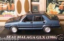 SEAT MALAGA 1.5 GLX 1986 IXO BLEU BLUE 1/43 IXO ALTAYA