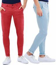 Pantaloni Chino Uomo Slim Fit Aderenti Cotone Elastico Skinny GIROGAMA 3916IT