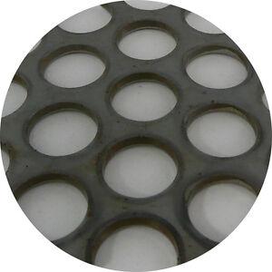 Mild Steel Perforated Sheet 2m x 1m x 3.0mm R15 T20 Bin 72 - 500130085