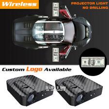 Wireless Hundred USA Dollar Bills Car Door Projector Courtesy Ghost Shadow Light