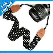 NEW fashion Vintage Hippie PU camera strap Neck strap for DSLR Camera