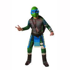 Leonardo Teenage Mutant Ninja Turtles Costume Child Boys Blue Mask Nickelodeon