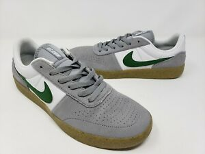 Nike SB Team Classic Particle Grey Mens Size 10 Shoes AH3360-016 Forest Green