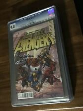 NEW AVENGERS #17 CGC 9.8 MARVEL 12/11 WOLVERINE ON FRONT COVER