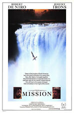 MISSION 1986 Robert De Niro, Jeremy Irons US 1-SHEET POSTER
