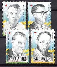 Dutch Antilles / Aruba - 1996 10 years Status Aparte / Politician Mi. 171-74 MNH